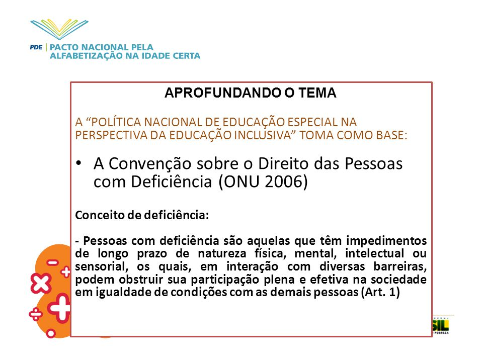 A Convenção sobre o Direito das Pessoas com Deficiência (ONU 2006)
