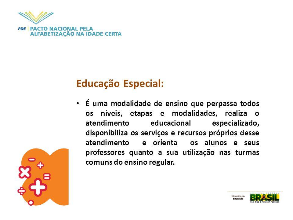 Educação Especial: