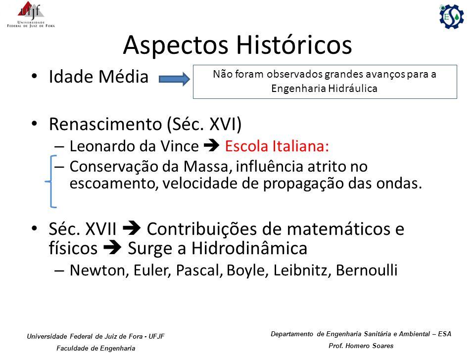Aspectos Históricos Idade Média Renascimento (Séc. XVI)