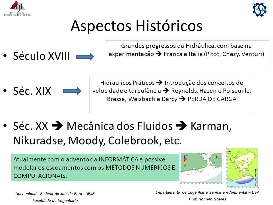 Aspectos Históricos Século XVIII Séc. XIX