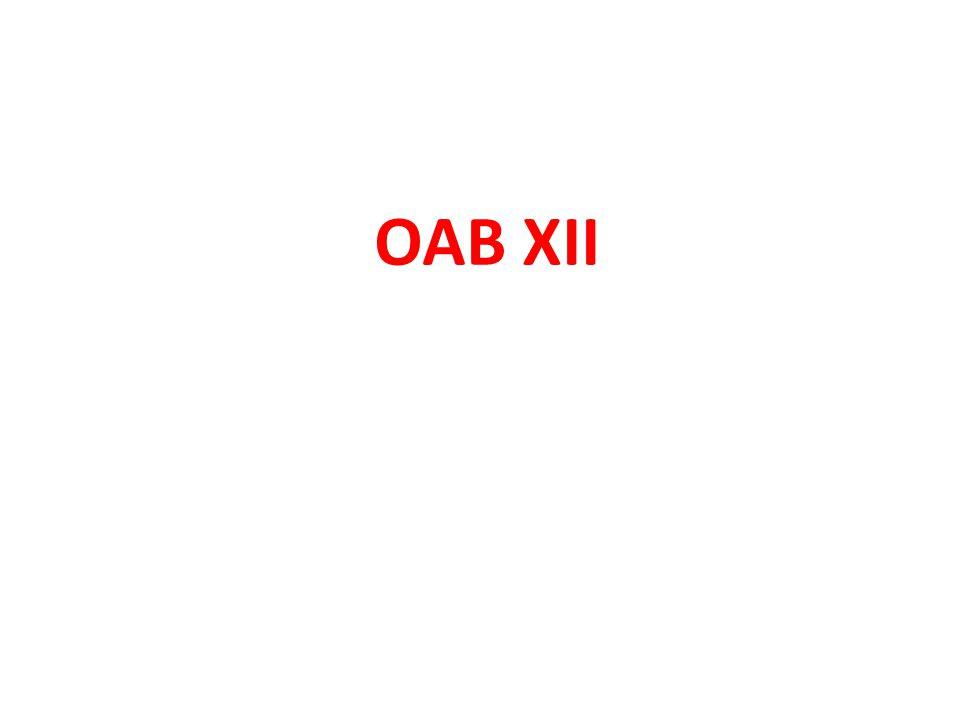 OAB XII