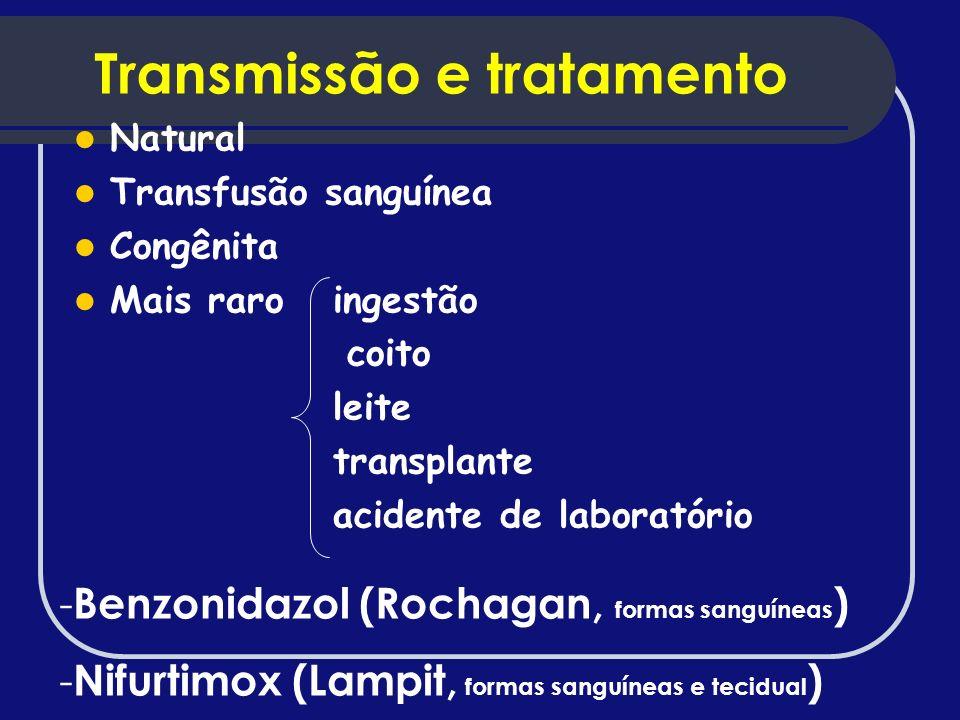 Transmissão e tratamento