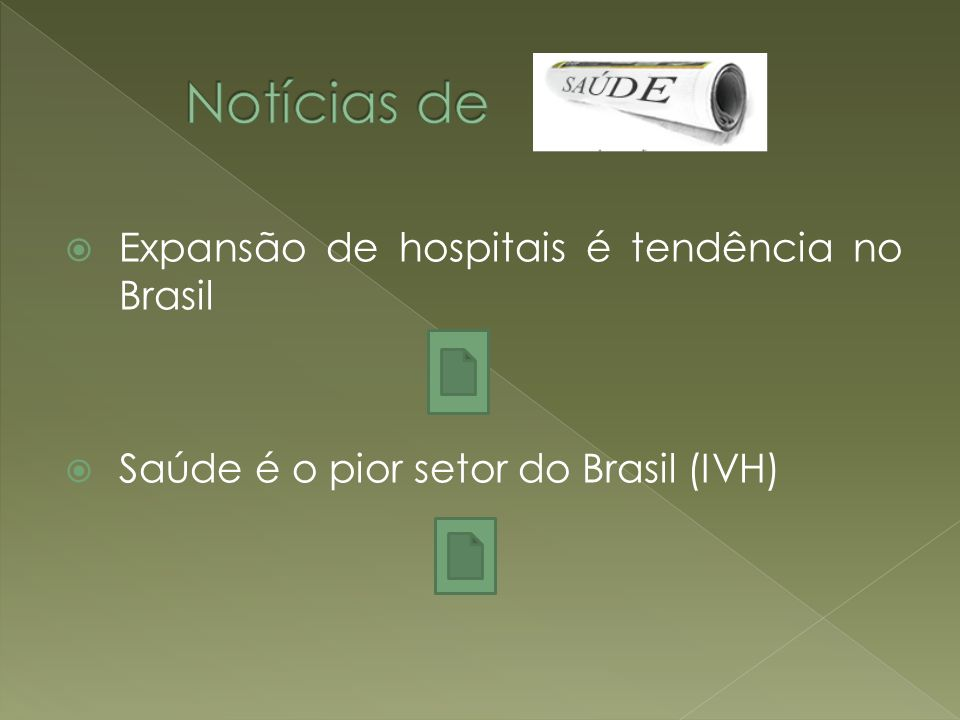 Notícias de Expansão de hospitais é tendência no Brasil