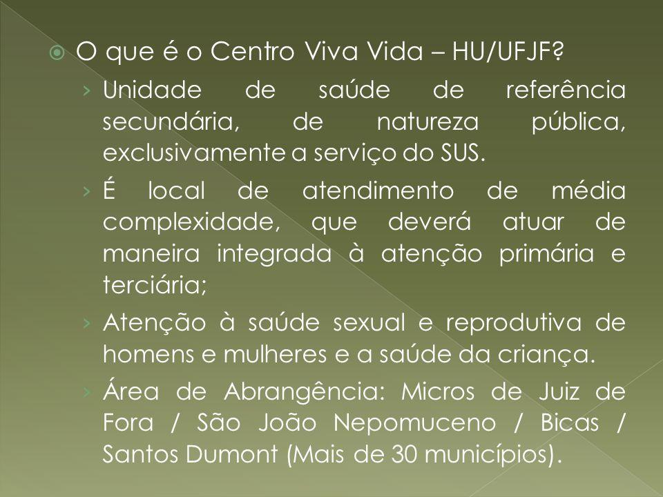 O que é o Centro Viva Vida – HU/UFJF