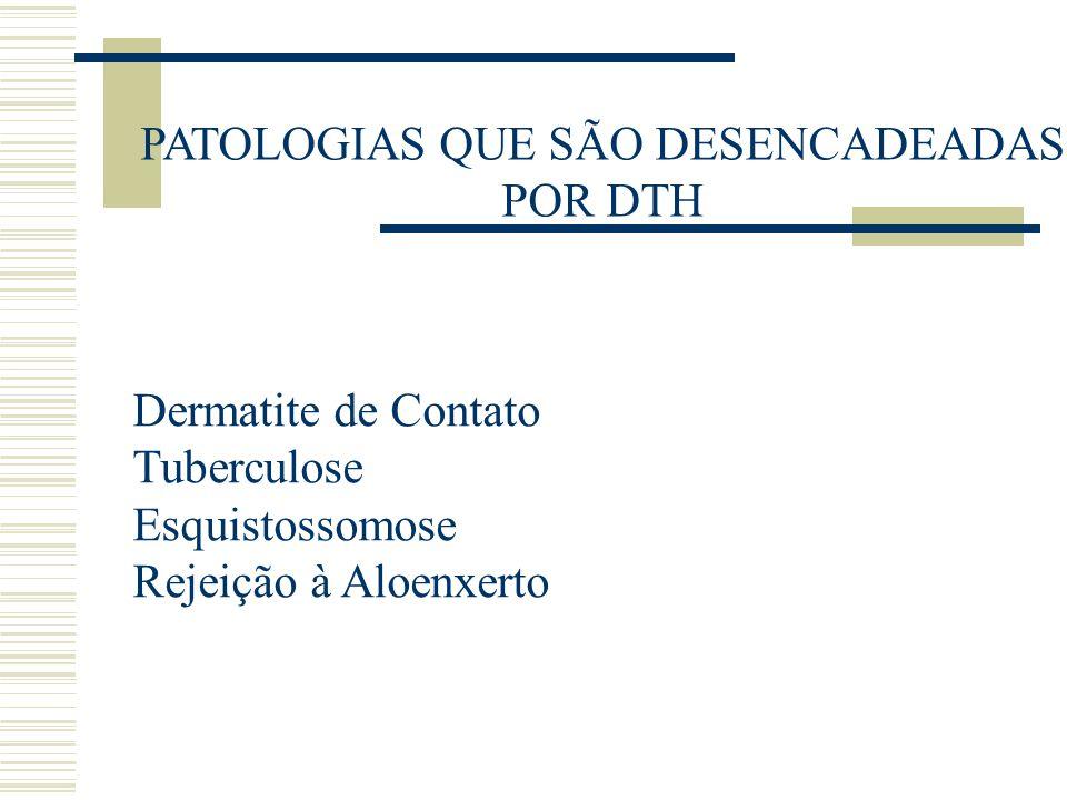 PATOLOGIAS QUE SÃO DESENCADEADAS POR DTH