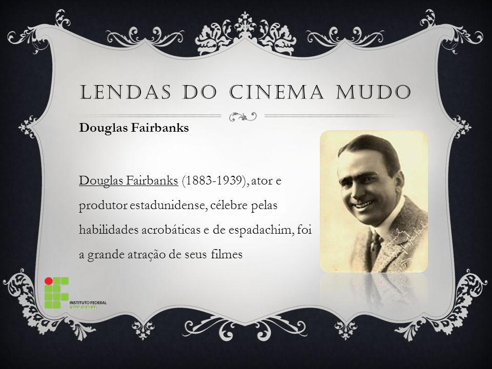 Lendas do Cinema mudo