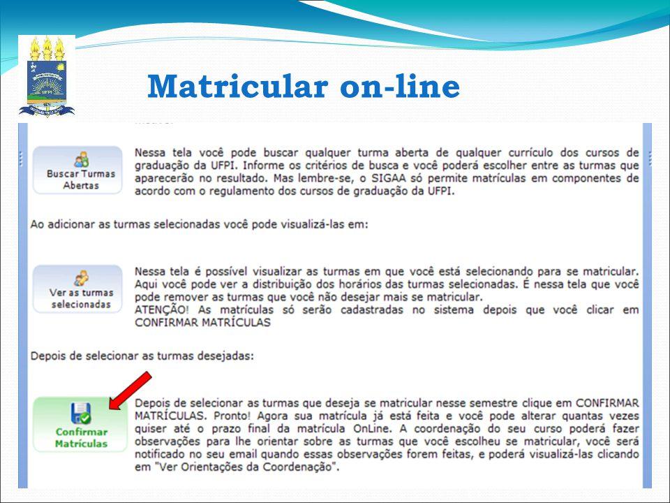 Matricular on-line 10