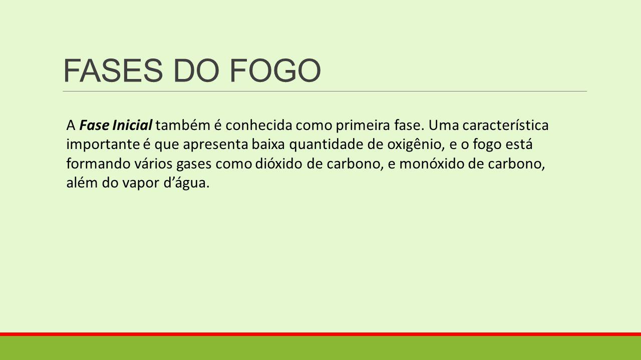 FASES DO FOGO