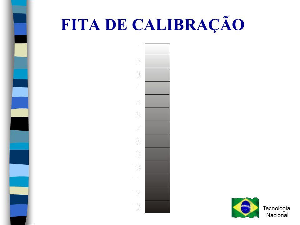 FITA DE CALIBRAÇÃO Tecnologia Nacional