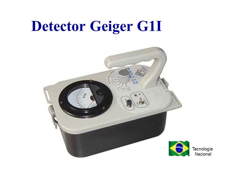Detector Geiger G1I Tecnologia Nacional