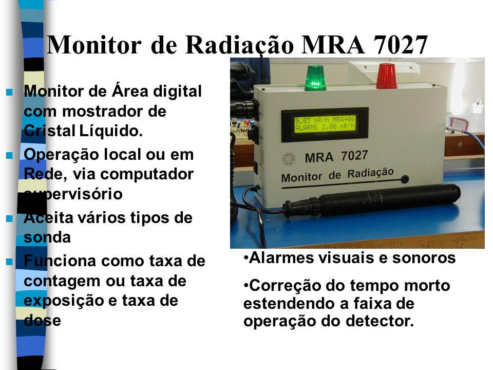 Monitor de Radiação MRA 7027