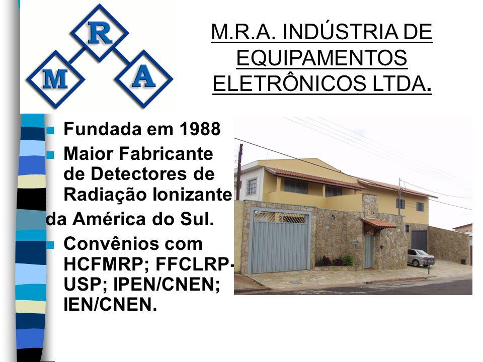 M.R.A. INDÚSTRIA DE EQUIPAMENTOS ELETRÔNICOS LTDA.