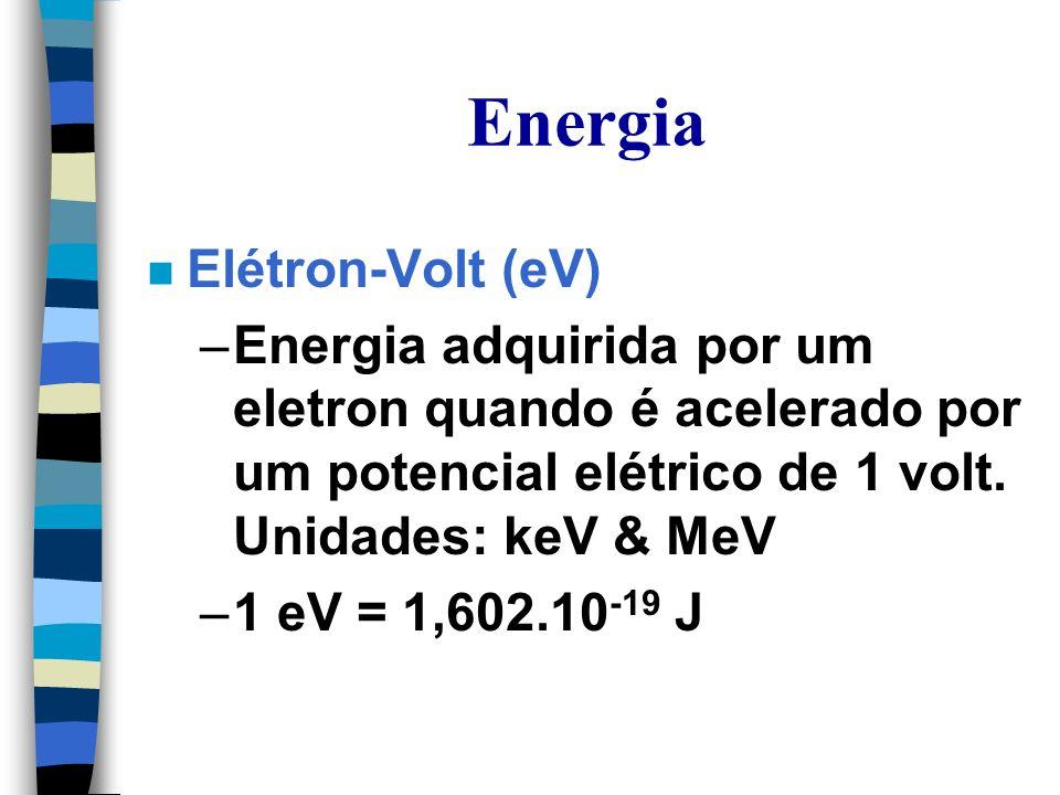 Energia Elétron-Volt (eV)