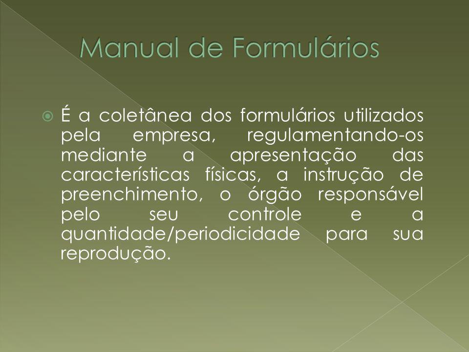 Manual de Formulários
