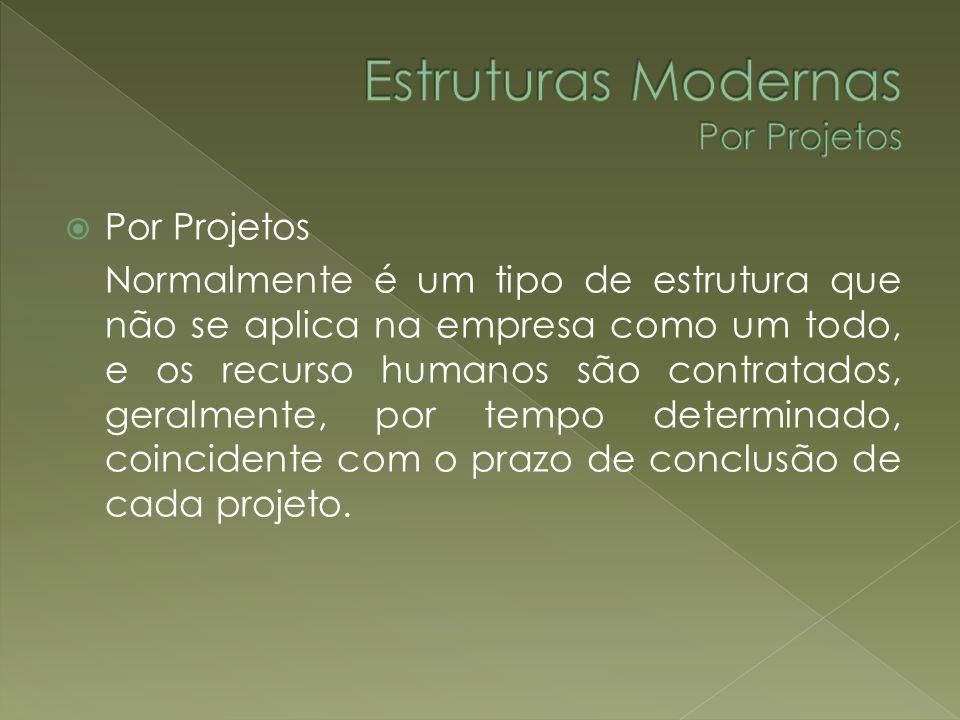 Estruturas Modernas Por Projetos