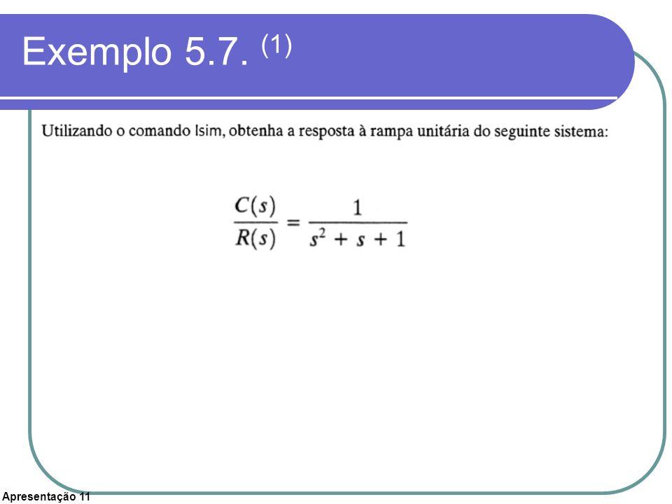 Exemplo 5.7. (1)
