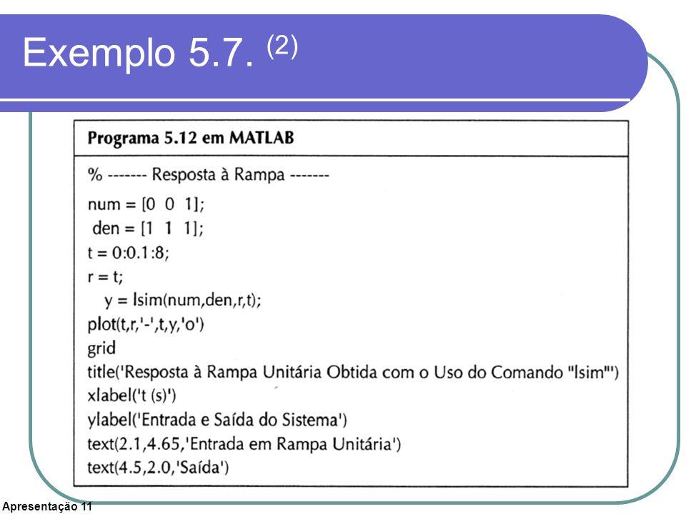 Exemplo 5.7. (2)