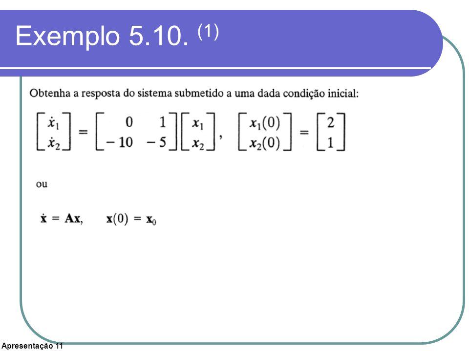 Exemplo 5.10. (1)