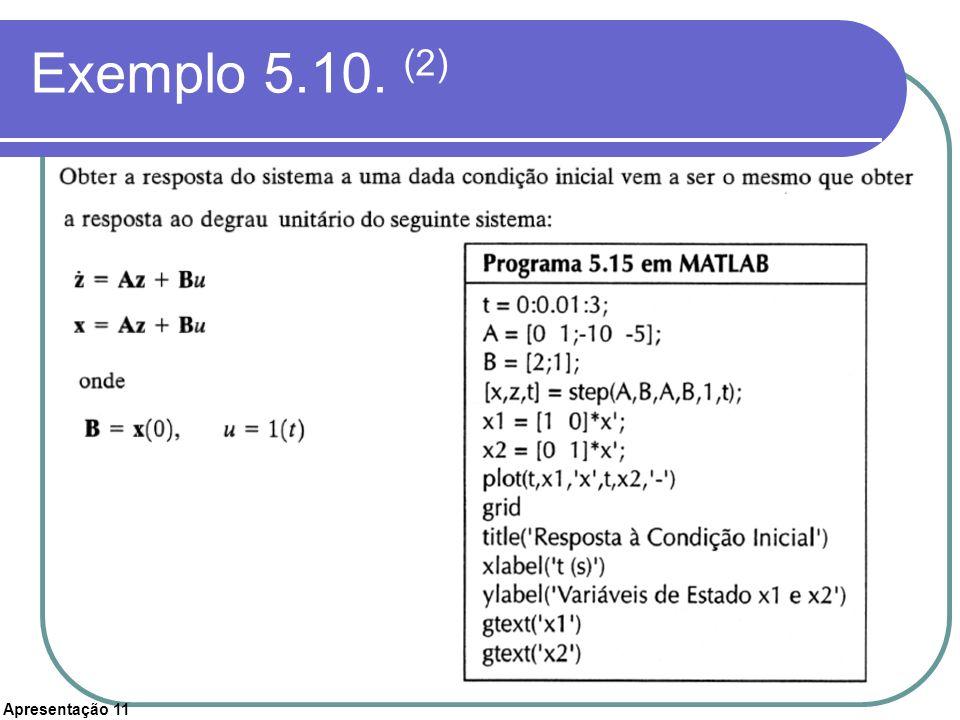Exemplo 5.10. (2)