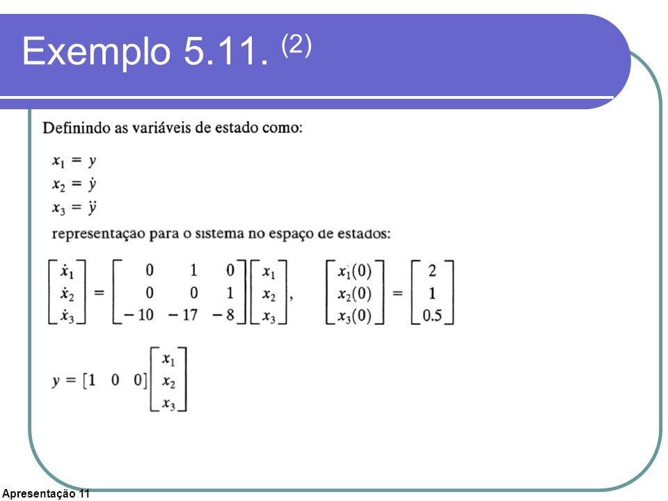 Exemplo 5.11. (2)