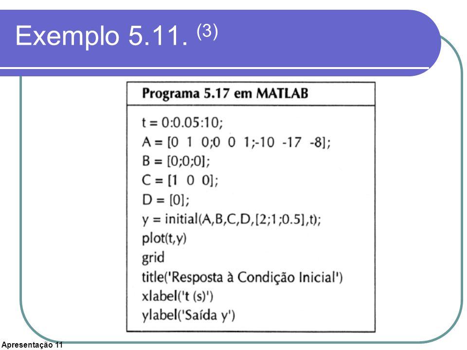 Exemplo 5.11. (3)