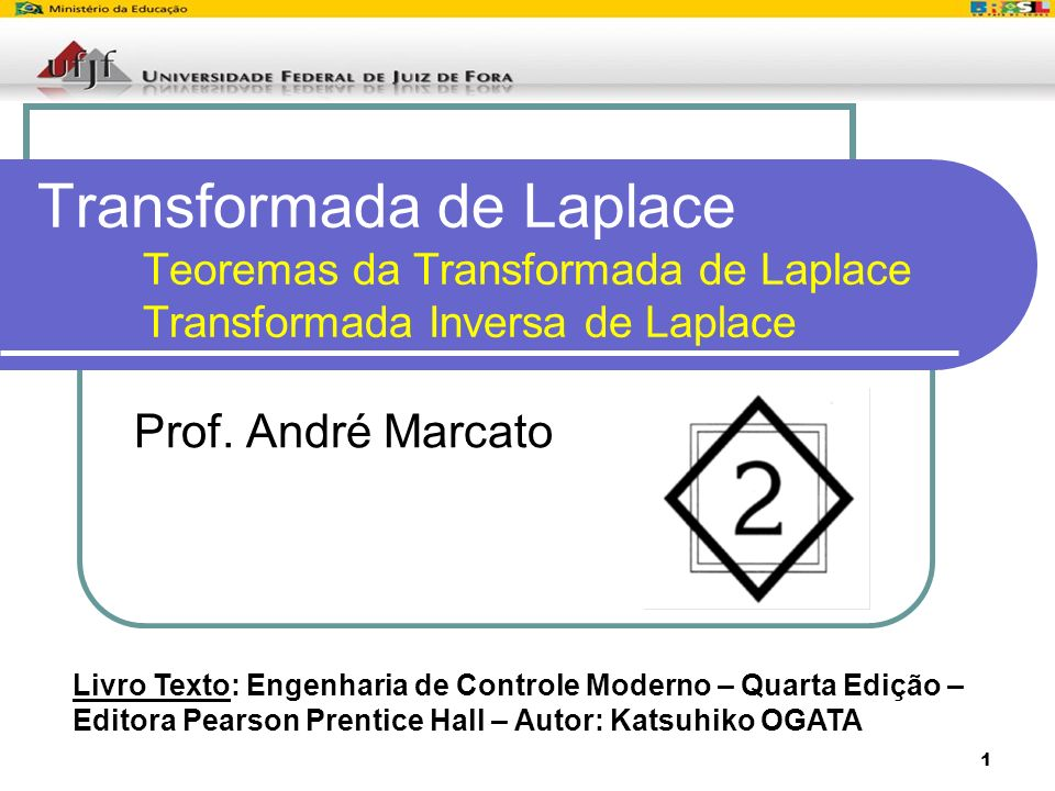 Transformada de Laplace. Teoremas da Transformada de Laplace