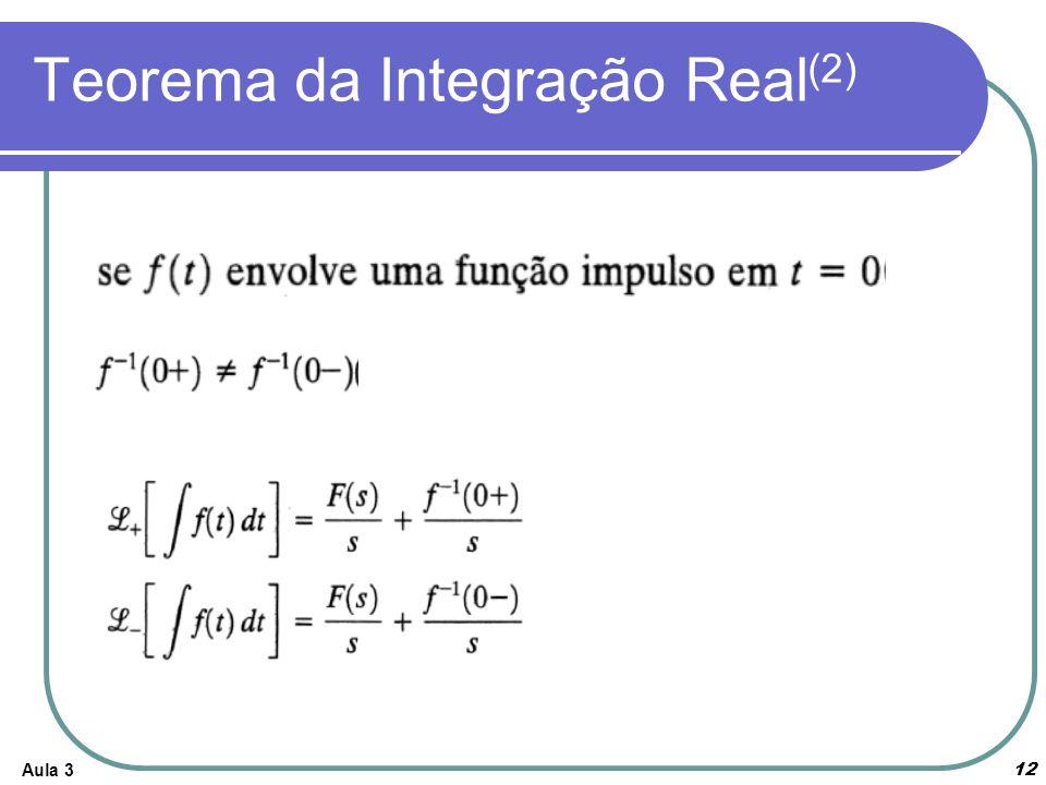 Teorema da Integração Real(2)