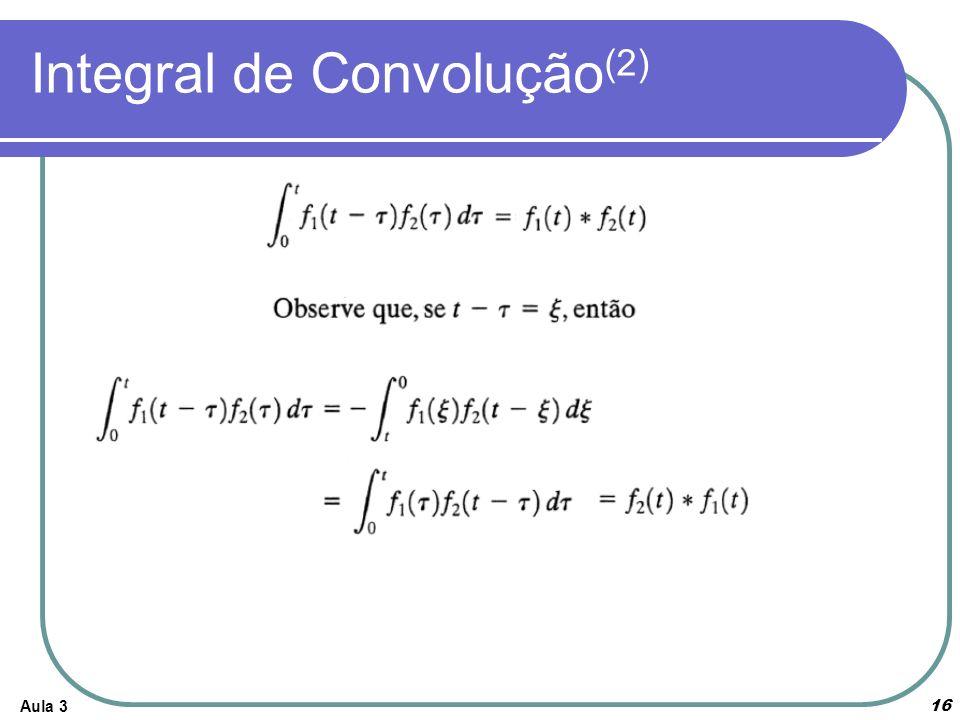 Integral de Convolução(2)