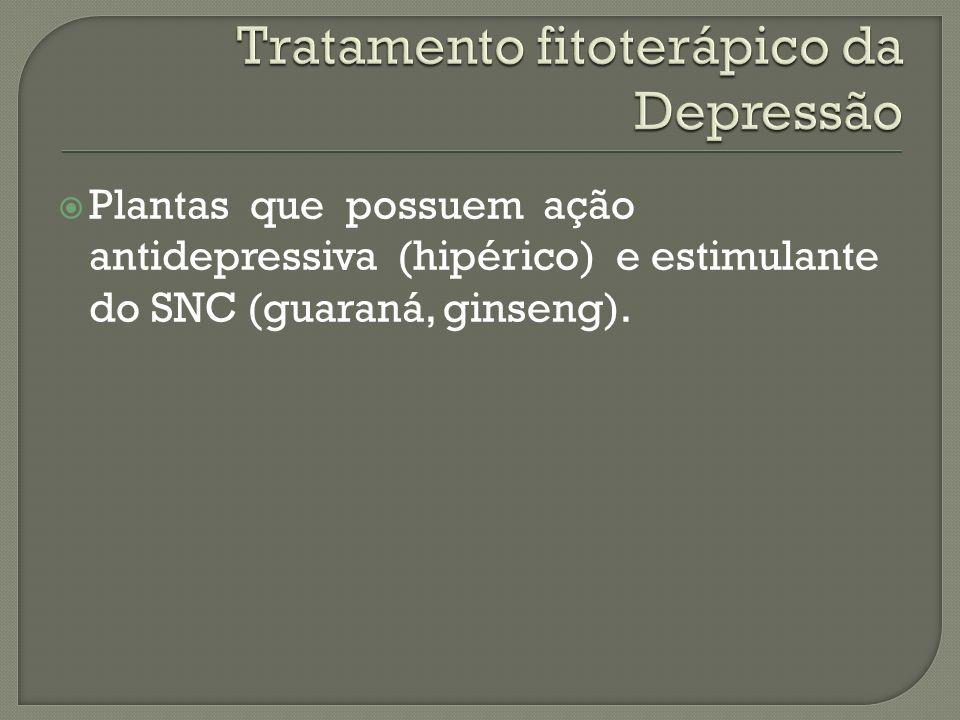 Tratamento fitoterápico da Depressão