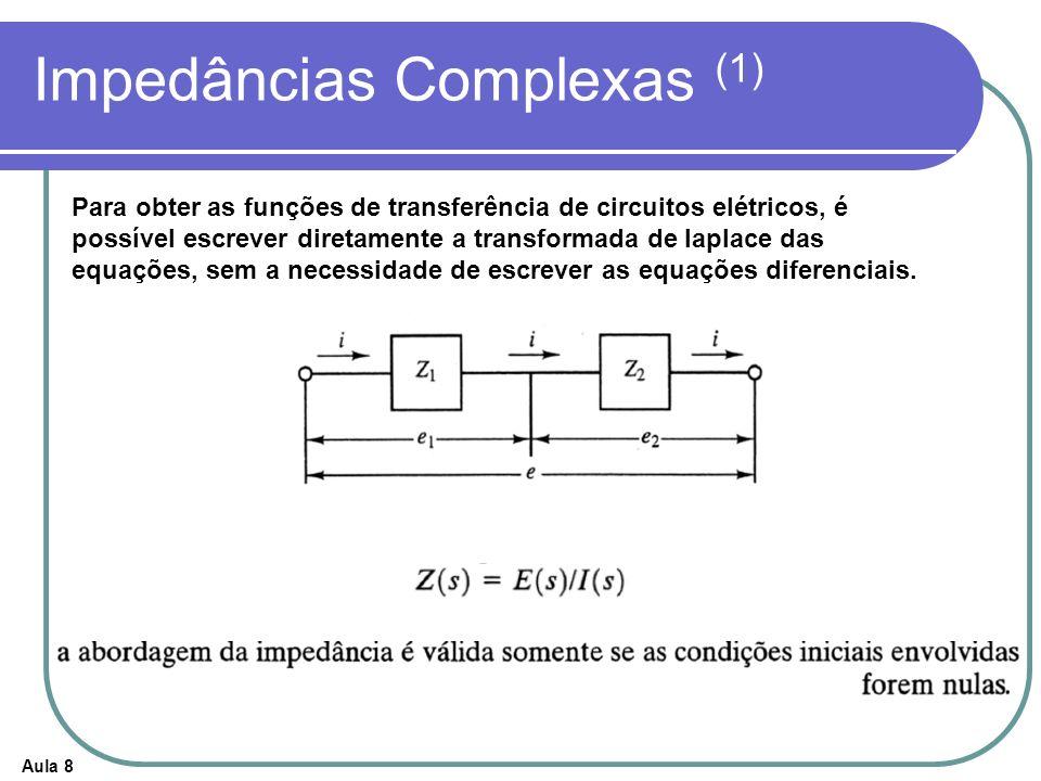 Impedâncias Complexas (1)