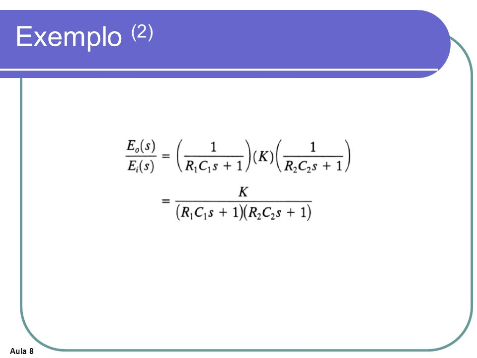 Exemplo (2)