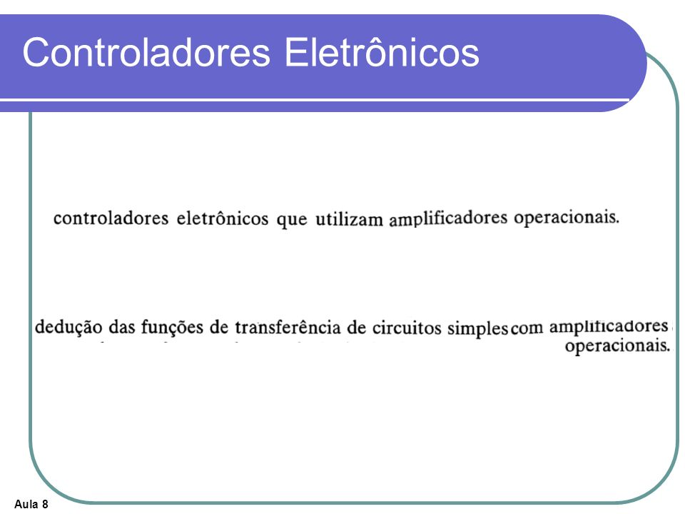 Controladores Eletrônicos