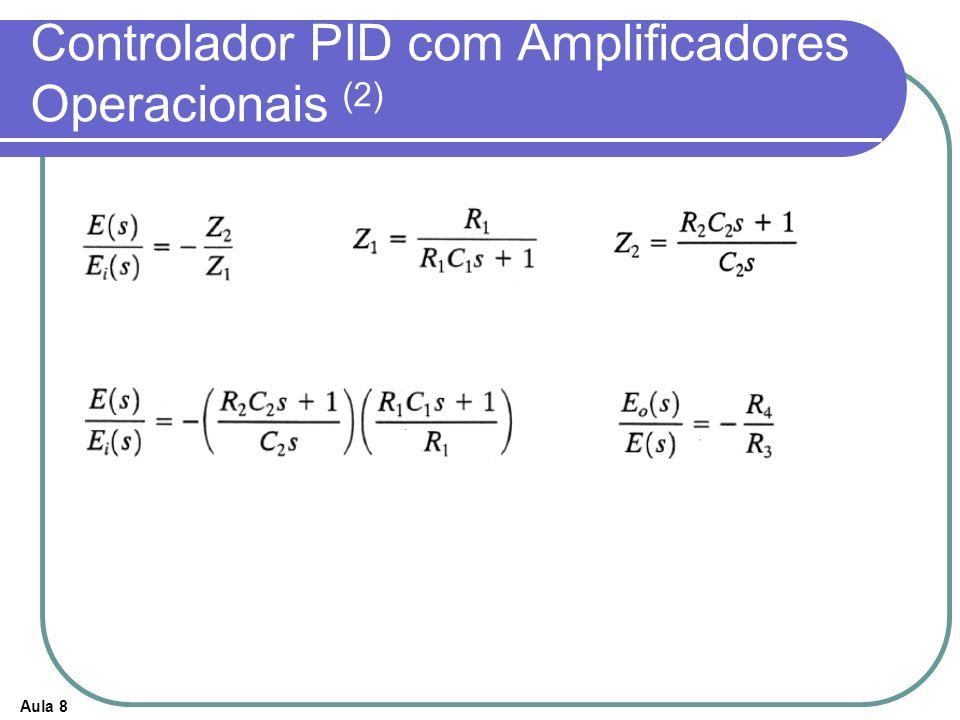Controlador PID com Amplificadores Operacionais (2)