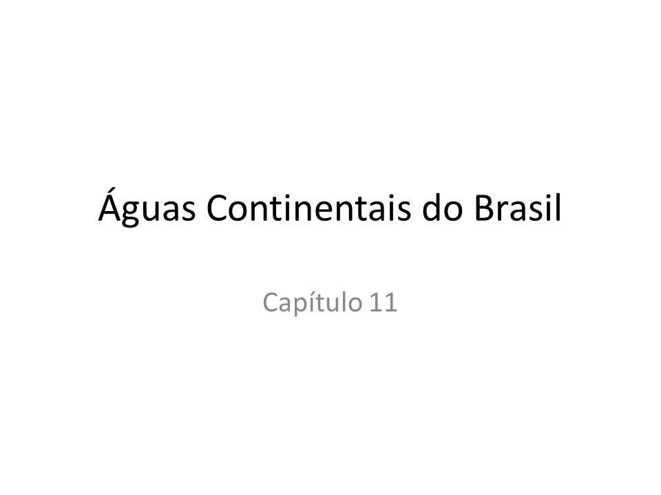 Águas Continentais do Brasil
