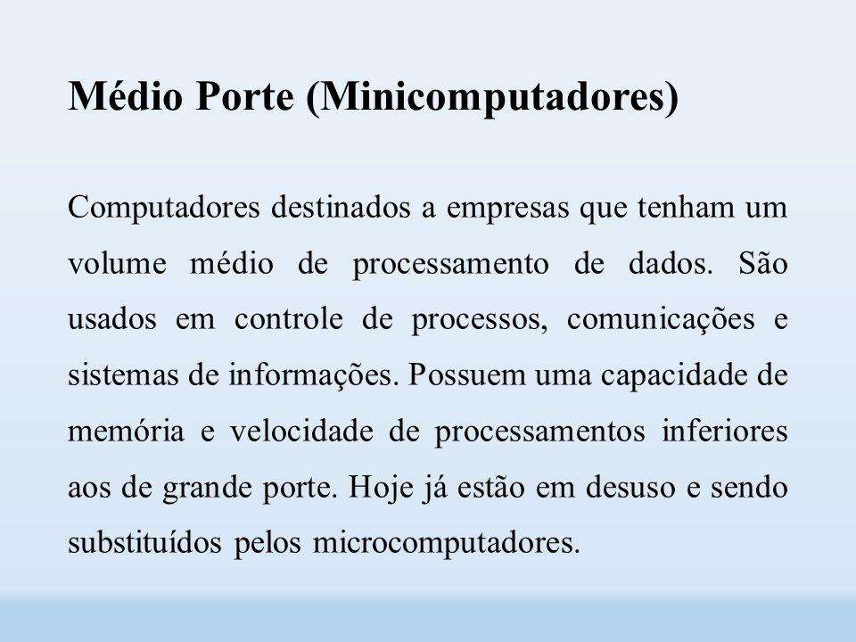 Médio Porte (Minicomputadores)