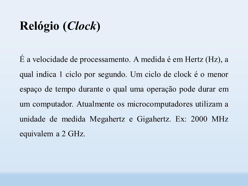Relógio (Clock)