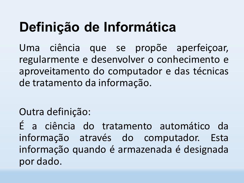 Definição de Informática