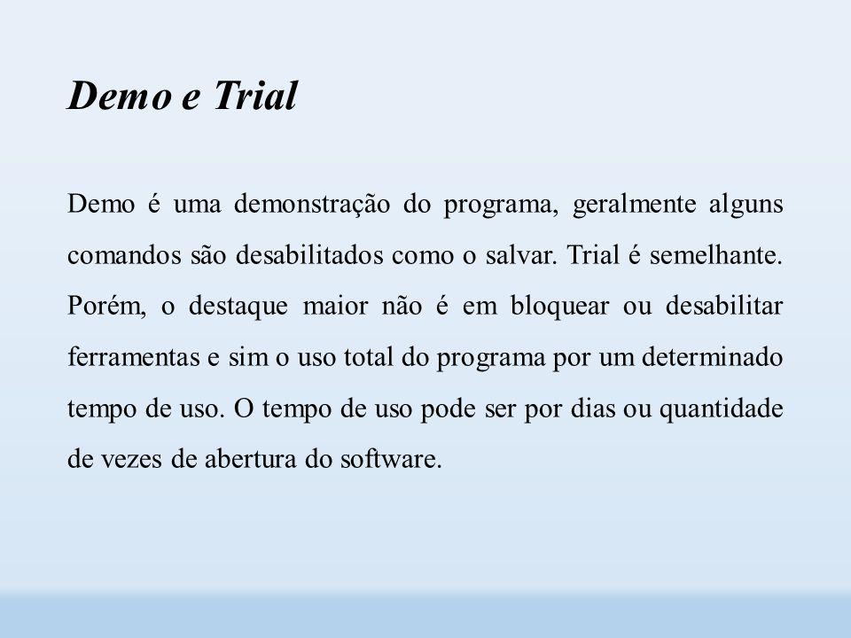 Demo e Trial