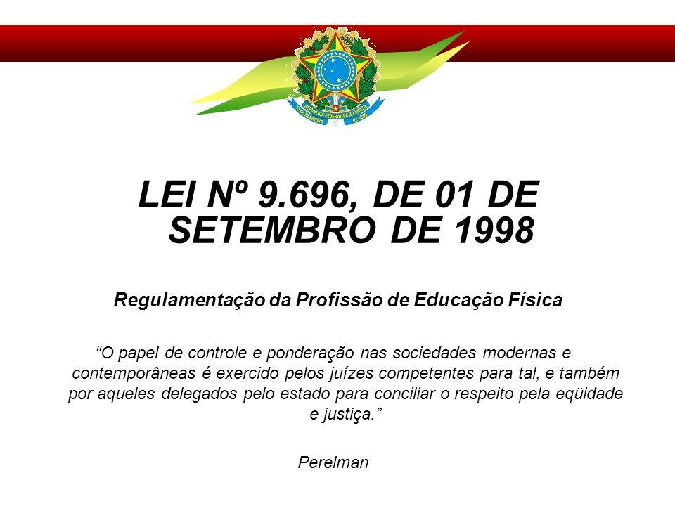 Regulamentação da Profissão de Educação Física