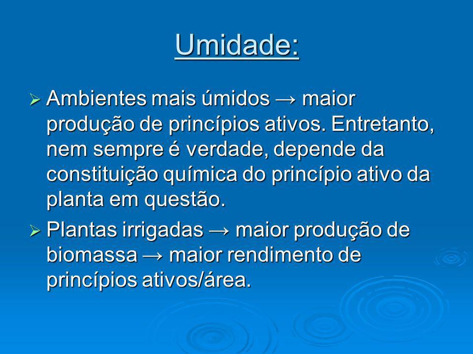 Umidade: