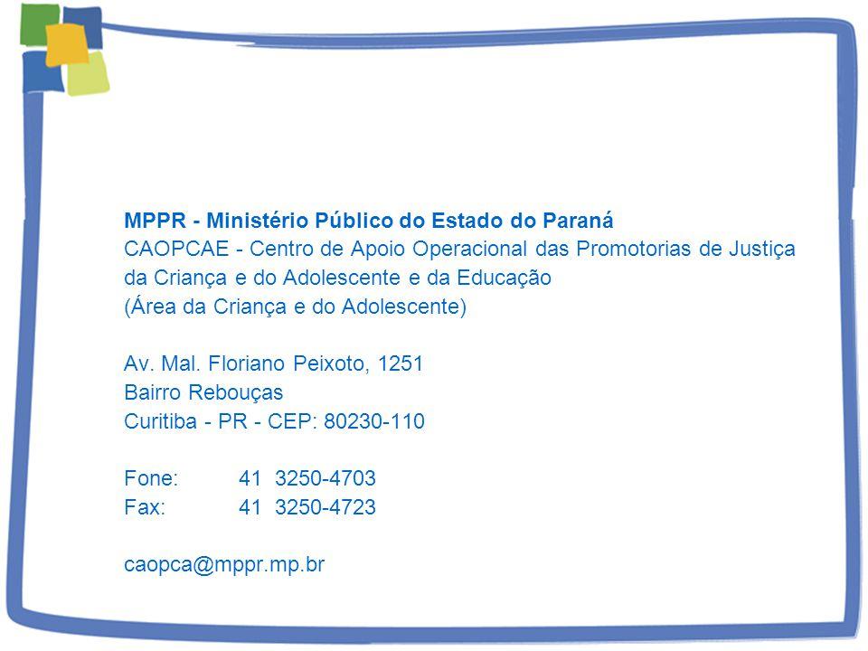 MPPR - Ministério Público do Estado do Paraná