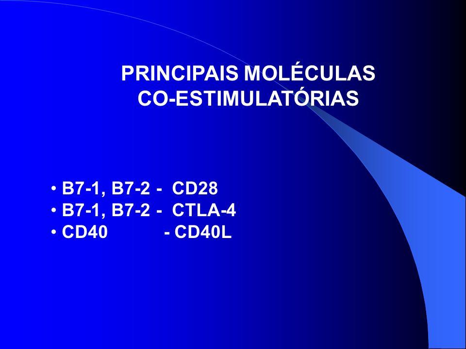 PRINCIPAIS MOLÉCULAS CO-ESTIMULATÓRIAS