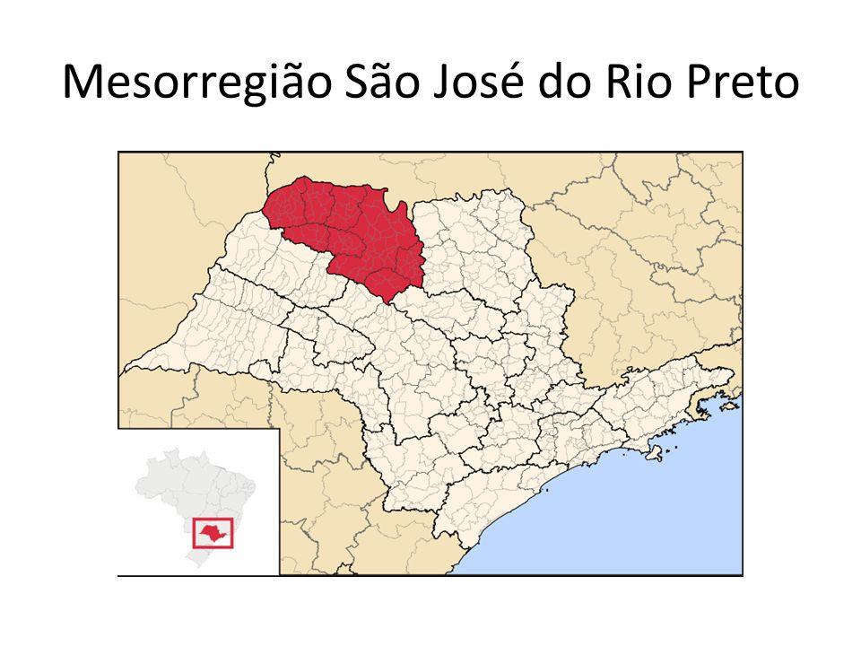 Mesorregião São José do Rio Preto