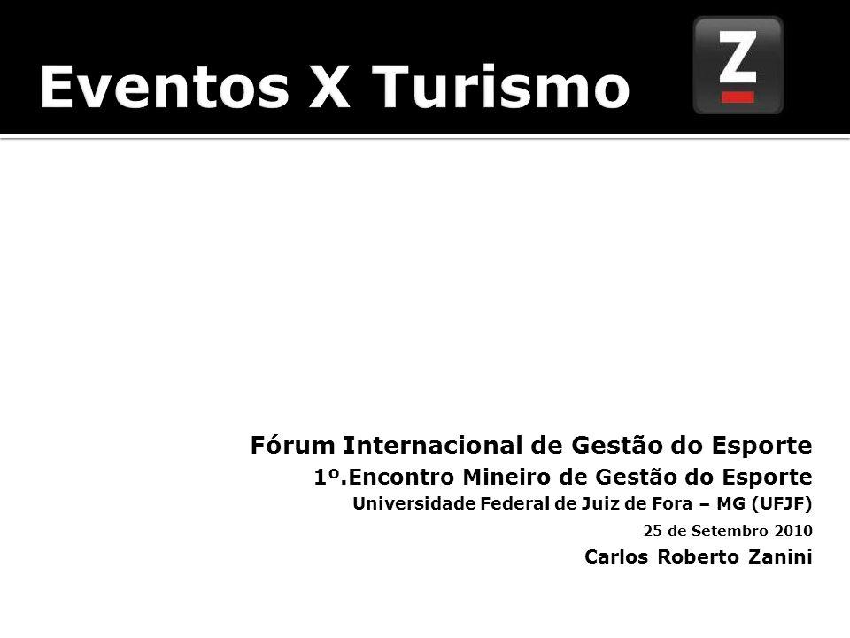 Eventos X Turismo Eventos Fórum Internacional de Gestão do Esporte
