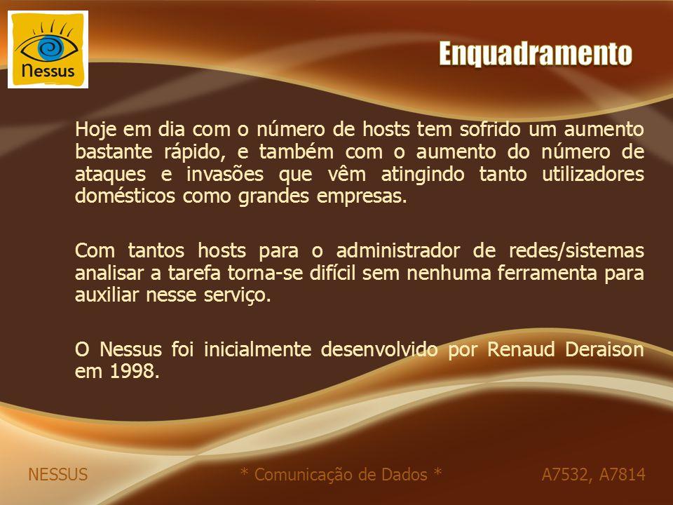 NESSUS * Comunicação de Dados * A7532, A7814