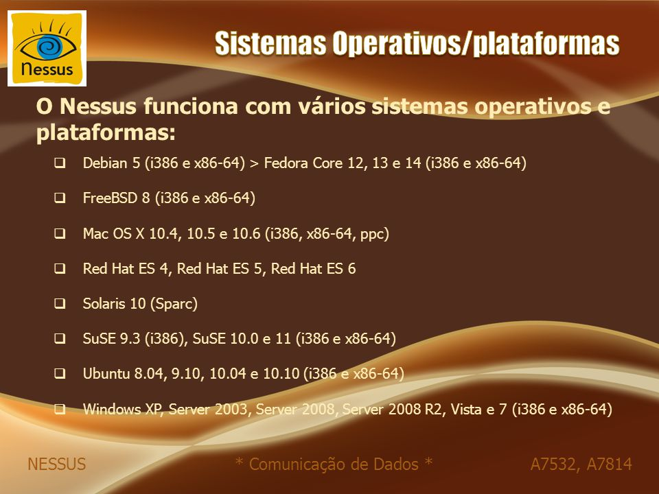 Sistemas Operativos/plataformas