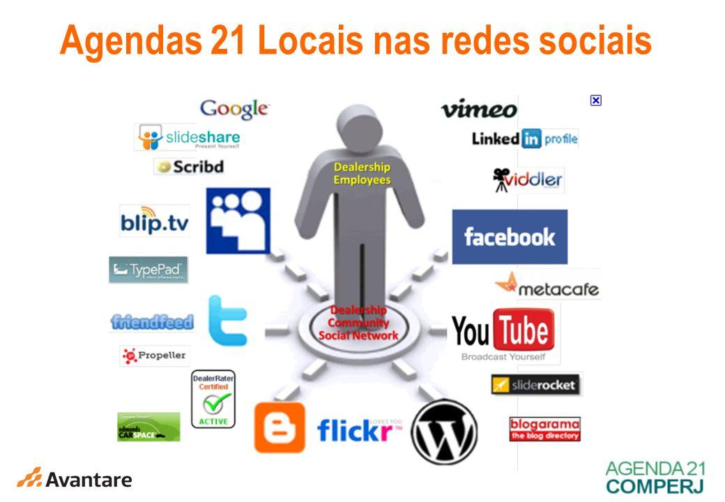 Agendas 21 Locais nas redes sociais
