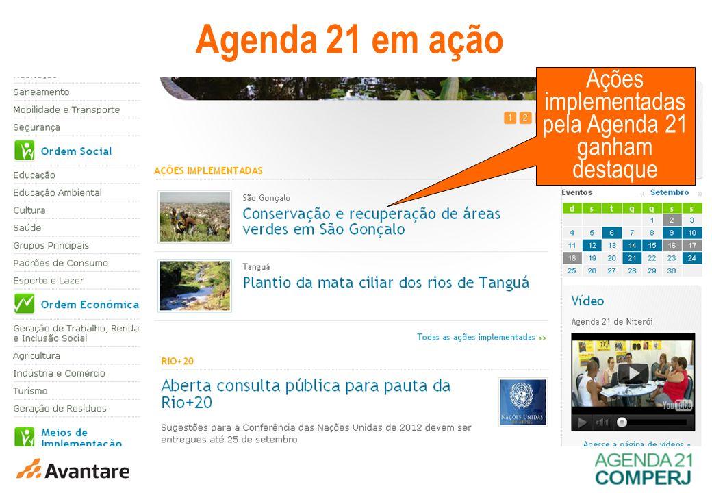 Ações implementadas pela Agenda 21 ganham destaque