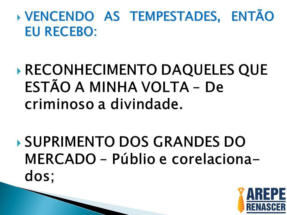SUPRIMENTO DOS GRANDES DO MERCADO – Públio e corelaciona- dos;