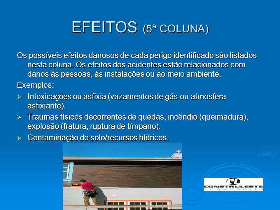 EFEITOS (5ª COLUNA)